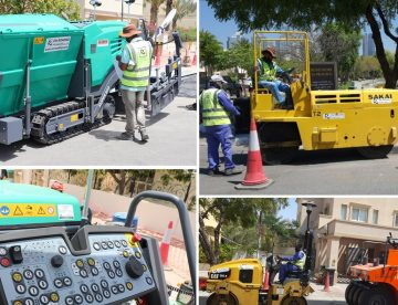 Asphalt Road Contractors In Dubai